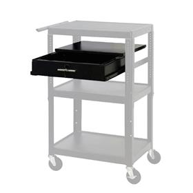 View a larger image of the VTI 4226DWR Pull Out Security Drawer and Shelf for 4226 Series Carts.