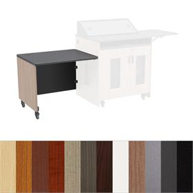 View a larger image of the Audio Visual Furniture PD51 Series Desk End (Left or Right) 5104DE here.