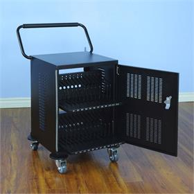 View a larger image of the VTI 55024 Universal Electronic Device 24 Bay Charging Cart.