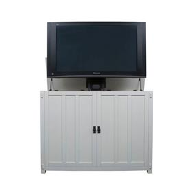 View a larger image of the Touchstone Elevate Mission TV Lift Cabinet (32-50 inch, White) 72013.