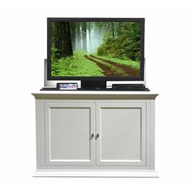 View a larger image of the Touchstone Seaford TV Lift Cabinet (32-50 inch TV, White) 73011.