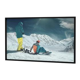 View a large image of the Da-Lite 79982 Da-Snap Fixed Frame (STD Trim, HD Pro ReView 0.9, 16:9, 106 Inch) here.