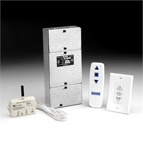 View a large image of the Da-Lite Single Motor LVC System (Radio Frequency Wireless Remote) 82433 here.