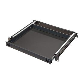 View a larger image of the Audio Visual Furniture 9041 Rack Mounted Sliding Shelf (1RU) here.
