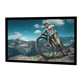 View a large image of the Da-Lite 96526V Cinema Contour Fixed Frame (HD Pro ReView 0.9, 16:9, 82 Inch) here.