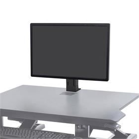 View a large image of the Ergotron WorkFit Monitor Kit (Single, Light, Black) 97-935-085 here.