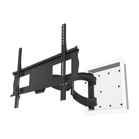 View a larger image of the Crimson Articulating Universal In-Wall Mount for 37-65 inch Screens (Black) A63I here.