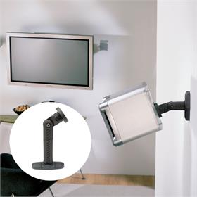 View a larger image of the OmniMount AB1 Audio Basic Wall or Ceiling Satellite Speaker Mount.
