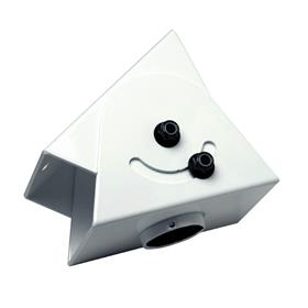 View a larger image of the Peerless Cathedral Ceiling Adapter (White) ACC556.