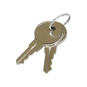 View a larger image of the Middle Atlantic Drawer or Lockbox Keys (Pair) ACC-KEY here.