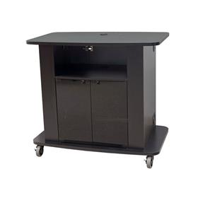 View a larger image of the Audio Visual Furniture Tech Series Extra Tall Cart C2736-42 here.