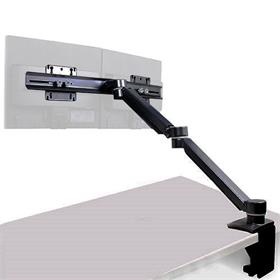 View a larger image of the 15-22 inch Dual Adjustable Monitor Arm for Carts or Podiums (Black) C900D here.