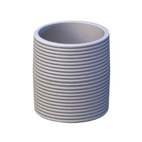 View a larger image of the 1.5 inch Diameter NTP White Threaded Pipe Nipple CLSW.