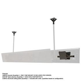 View a larger image of the Crimson CMD2V In-Line Modular Back to Back Ceiling System for VESA 200x200.