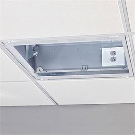 View a larger image of the Chief CMS491P2 2' x 2' Plenum Rated Storage Box with Filter & Surge.