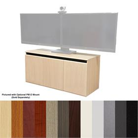 View a larger image of the Audio Visual Furniture CR3000EX Triple Bay Rack Credenza (36RU) here.