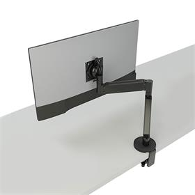 View a large image of the Chief Koncīs Monitor Arm Mount (Single, Dynamic, Black) DMA1B here.