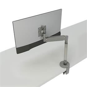 View a large image of the Chief Chief Koncīs Monitor Arm Mount (Single, Dynamic, Silver) DMA1S here.