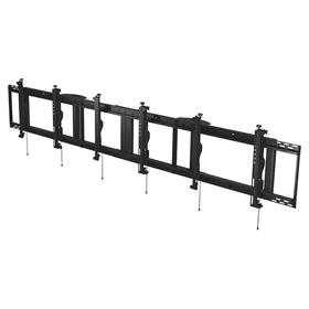 View a larger image of the Peerless DS-MBZ942L-3X1 QSR 3x1 Menu Board Ceiling Mount for 40-42