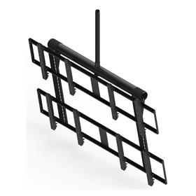 View a larger image of the Peerless 2x2 Ceiling Mount Video Wall for 40-55 inch Screens (Black) DS-VWT955-2X2 .