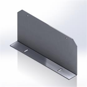 View a large image of the Da-Lite 29590 IDEA Accessory (Large Touch Interactive Bracket) here.