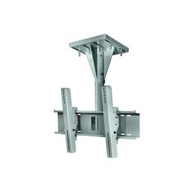View a larger image of the Peerless ECMU-01-I-S Gray Wind Rated I-Beam Ceiling Mount with 1 ft Drop.