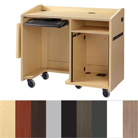 View a larger image of the Audio Visual Furniture EDU-MD Mobile Multimedia Teaching Desk here.