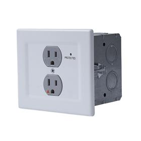 View a larger image of the Chief EGX-SF2 Power Filtering & Surge Protection Wall Outlet.