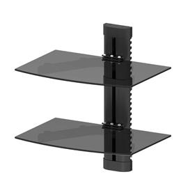 View a larger image of the Promounts ONE Series Double Shelf AV Component Wall Mount FSH2 here.