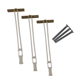 View a larger image of the Crimson HT3 Metal Stud and Drywall Toggle Bolts (3 Pack).
