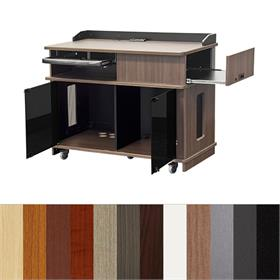 View a larger image of Audio Visual Furniture IPVP7 Mobile Instructor Podium.