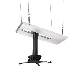 View a larger image of the Crimson JKS3-11A SyncPro Adj Height Suspended Ceiling Projector Kit up to 60 lbs.