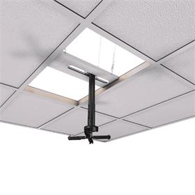 View a larger image of the Crimson JKS-18A Adj Height Suspended Ceiling Projector Kit up to 50 lbs.