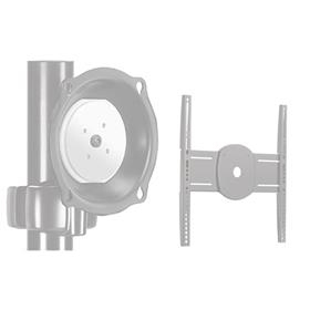 View a larger image of the Chief JPPUS Silver Universal Pivot Pole Mount for Mid Size Screens.