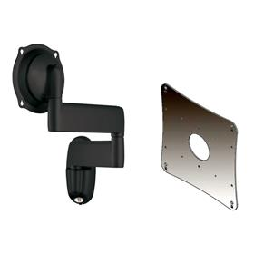 View a larger image of the Chief JWD210B Black Swing Arm Wall Mount with 200x200 VESA Adapter.