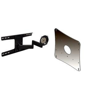 View a larger image of the Chief JWDSK210B Black Metal Stud Wall Mount with 200x200 VESA Adapter.