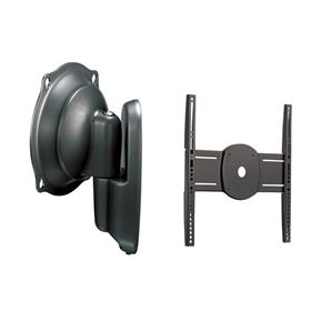 View a larger image of the Chief JWPUB Black Universal Pivot Wall Mount for Mid Size Screens.