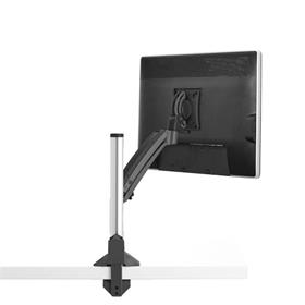 View a larger image of the Chief K1C110B Kontour Single Screen Dynamic Column Desk Mount.