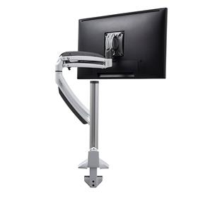 View a larger image of the Chief K1C120W White Kontour Single Screen Dynamic Column Desk Mount.