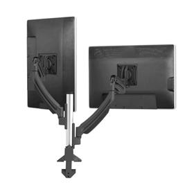 View a larger image of the Chief K1C220B Kontour Dual Screen Dynamic Column Desk Mount.