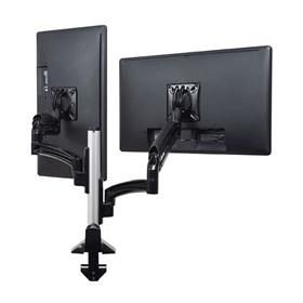 View a larger image of the Chief K1C220BXRH Kontour Reduced Height Dual Screen Dynamic Column Desk Mount.