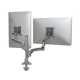 View a larger image of the Chief K1C220SXRH Kontour Reduced Height Dual Screen Dynamic Column Desk Mount.
