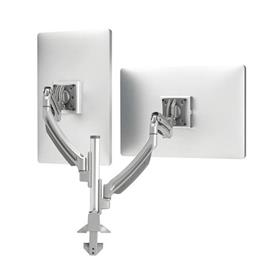 View a larger image of the Chief TAA Compliant Dynamic Column Mount (2 Monitors, Silver) K1C220S-G.