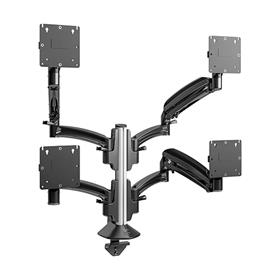 View a larger image of Chief K1C420B Kontour Quad 2x2 Dynamic Column Desk Mount.