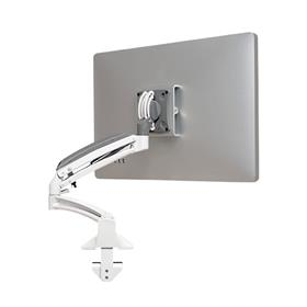 View a larger image of the Chief Kontour Reduced Height Single Screen Dynamic Desk Mount (White) K1D120WXRH.