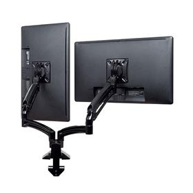 View a larger image of the Chief K1D220BXRH Kontour Reduced Height Dual Screen Dynamic Desk Mount.