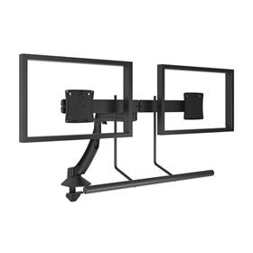 View a larger image of the Chief K1D22HB Kontour Dual Screen Array Dynamic Desk Mount.