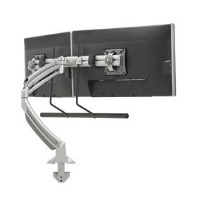 View a larger image of the Chief K1D22HS Kontour Dual Screen Array Dynamic Desk Mount.