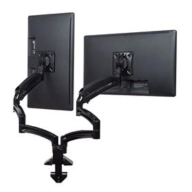 View a larger image of the Chief K1D230B Kontour Extended Reach Dual Screen Dynamic Desk Mount.