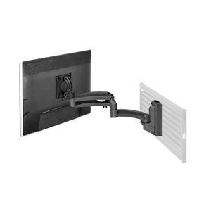 View a larger image of the Chief K1S120B Kontour Single Screen Dynamic Slat Wall Mount.